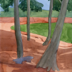 FROM UNDER THE BANYAN_2007_Watercolour on paper_29.5 x 21 cm_Rs 4,000