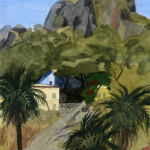 ROCKY HEIGHTS_2007_Watercolour on paper_ 29.5 x 21 cm_Rs 4,000
