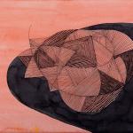 ORANGE_2016_Ink on paper_21 x 30 cm_Rs 5,500