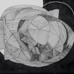 ZERO FIVE_2016_Ink on paper_21 x 30 cm_Rs 5,500