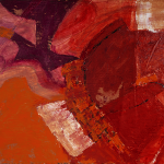 HOT SURFACES_2010_Acrylic on canvas on wood board_65 x 88cm_Rs 30,000